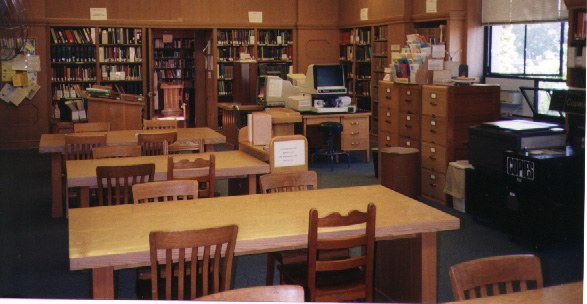 Geneology Room